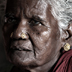 India old woman